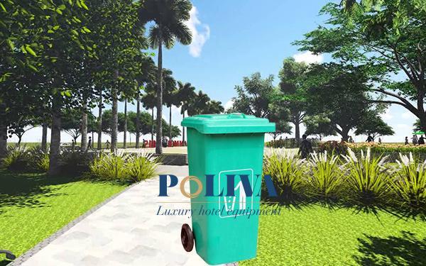 Kinh nghiệm chọn mua thùng rác Composite đảm bảo chất lượng