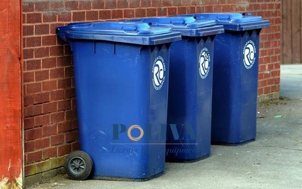 vấn đề thùng rác công cộng