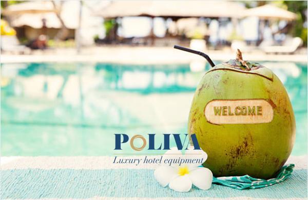 resort ở Phú Quốc đã chọn nước dừa làm Welcome drink