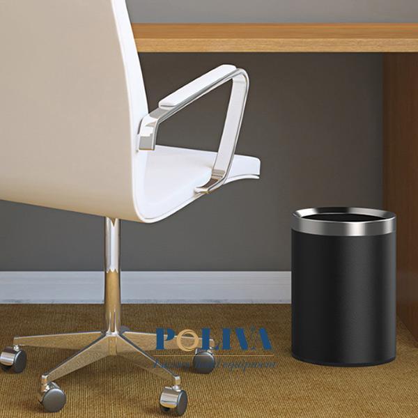 Thùng rác không nắp dùng trong phòng làm việc