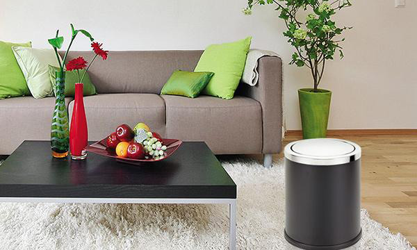 Thùng rác nắp lật cỡ nhỏ dùng cho phòng khách