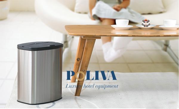 Poliva cung cấp cả thùng rác cảm ứng thông minh