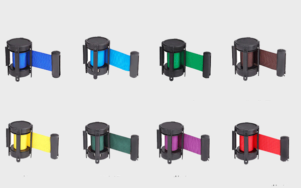 Màu sắc dây căng vô cùng đa dạng để người dùng lựa chọn