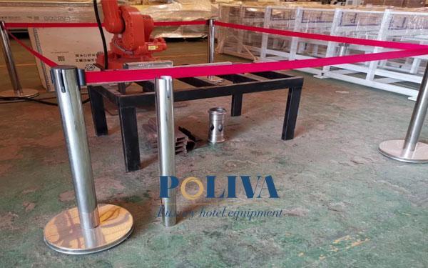 Poliva là địa chỉ cho thuê cột chắn inox dây căng đảm bảo chất lượng hàng đầu