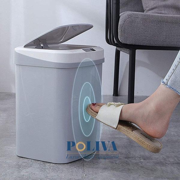 Thùng rác sở hữu ưu điểm là thiết kế đẹp