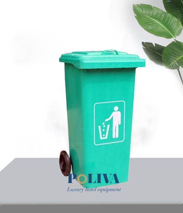 Thùng rác nhựa Composite nhập khẩu dụng tích 240L