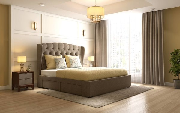 Giường bọc nệm: Xu hướng giường khách sạn hiện đại số 1 hiện nay