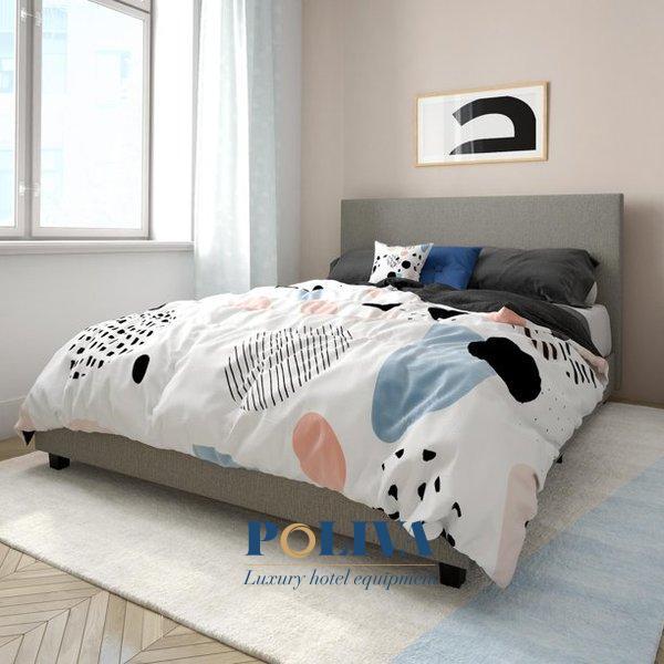 giường bọc nệm