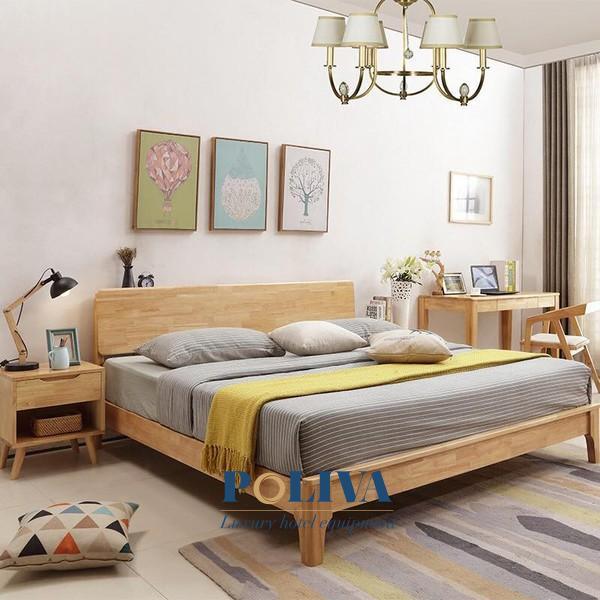 Giường gỗ và giường bọc nệm