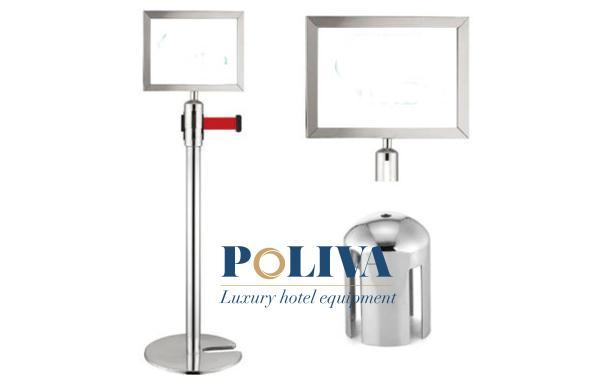 Mẫu thiết kế inox trắng kích thước A3 hoặc A4 được sử dụng phổ biến