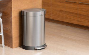 Thùng rác Inox: Mẫu thùng rác đẹp, thông dụng có mặt từ nhà ra phố