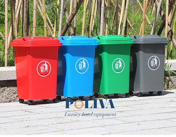 Poliva chuyên bán các loại thùng rác công cộng uy tín, chất lượng cao cấp