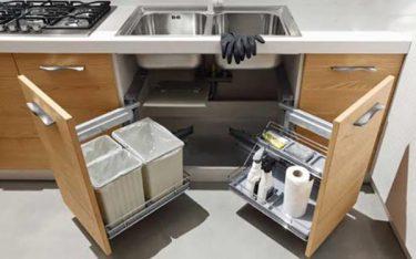 8 nhược điểm thùng rác gắn cánh tủ bếp khiến người dùng sớm CHÁN