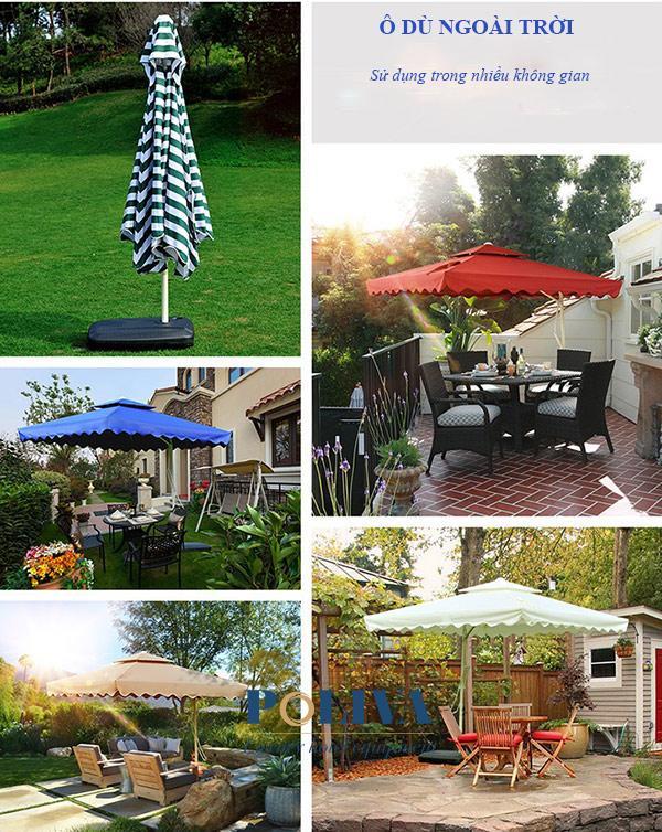Poliva cung cấp ô dù quán cafe, nhà hàng, khách sạn chất lượng nhất