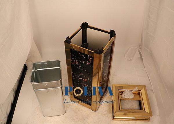 Thùng rác dễ dàng tháo rời phụ kiện nên vô cùng dễ vệ sinh