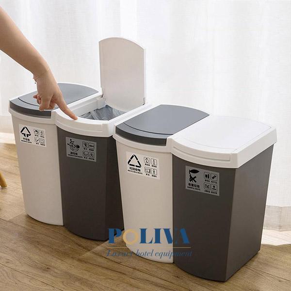 thùng rác nhà bếp bằng Inox