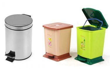 Nên dùng thùng rác nhà bếp bằng Inox hay thùng rác nhựa?