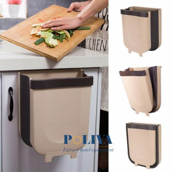 Thùng rác kẹp tủ tiện lợi cho việc nấu ăn