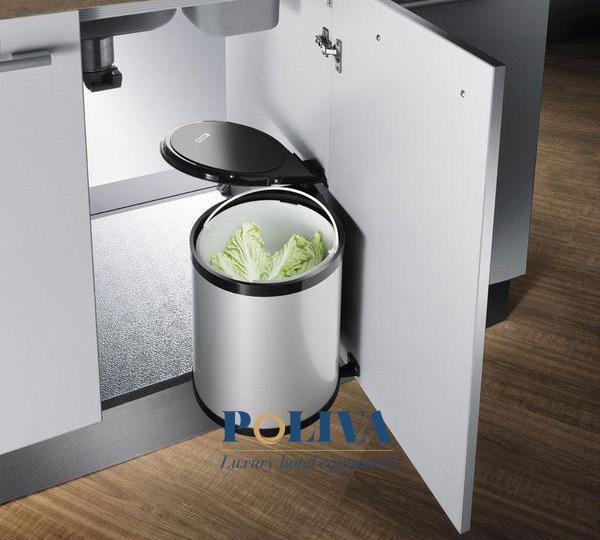 Thùng rác âm tủ bếp hiện đại