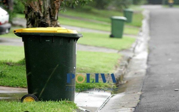 Tổng hợp các loại thùng rác nhựa 120 lít do Poliva cung cấp