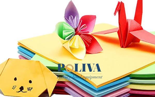 Giấy Origami được nhiều người chọn làm sản phẩm DIY