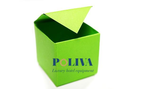 Cách làm thùng rác mini để bàn bằng giấy khá đơn giản