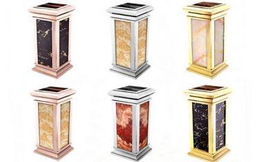 Poliva cung cấp thùng rác đá hoa cương chất lượng với giá rẻ nhất