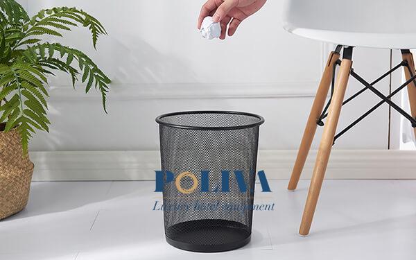 Những điều cần lưu ý khi dùng thùng rác văn phòng công ty