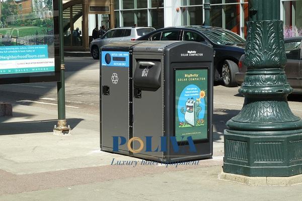 Tại nhiều nơi, khoảng cách đặt thùng rác công cộng chưa thực sự hợp lý