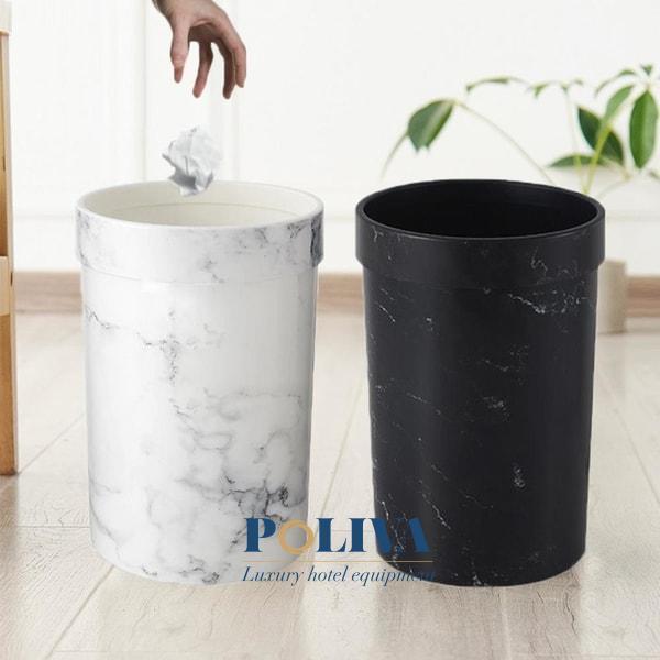 mẫu thùng rác độc lạ