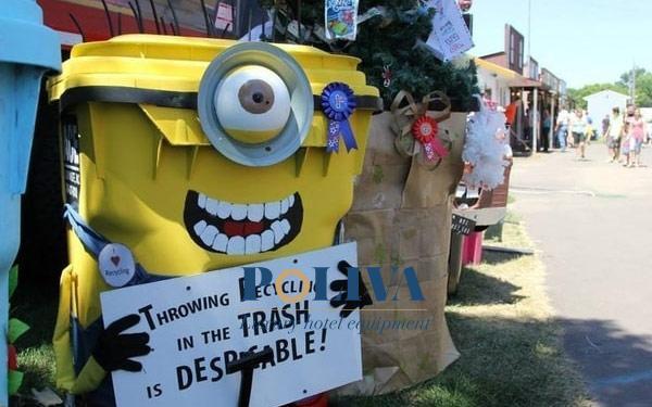 Những mẫu thùng rác độc lạ, khiến người sử dụng thích thú