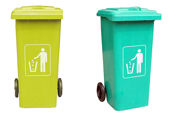 Thùng rác composite nhập khẩu do Poliva phân phối