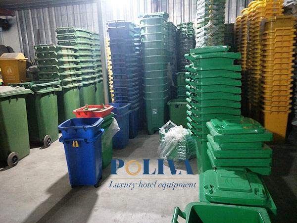 Poliva - tổng kho cung cấp thùng rác công nghiệp chất lượng