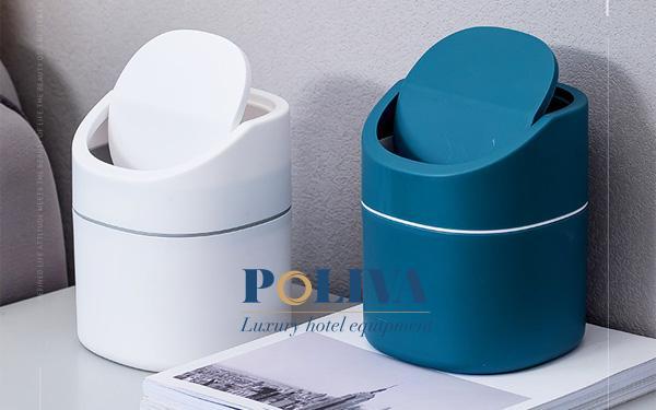 Thùng rác mini để bàn văn phòng sang chảnh