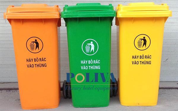 Top 4 thùng rác nhựa lớn làm sạch môi trường đô thị có giá phải chăng