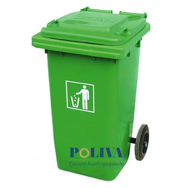 Thùng rác nhựa 120L, 240L thuận tiện cho thu gom rác