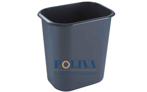 Thùng rác văn phòng có nắp thường dùng để chứa rác thải có mùi