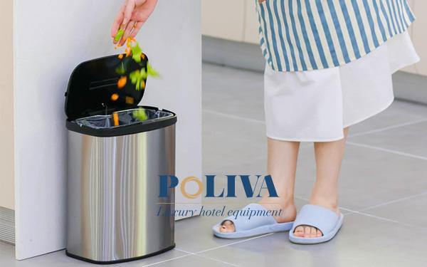 Thùng rác có nắp thiết kế thông minh cao cấp được nhiều người yêu thích