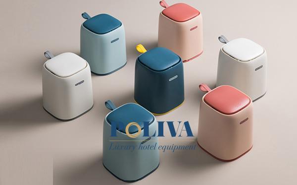 Mẫu thùng rác mini để bàn siêu dễ thương được nhiều quý cô công sở yêu thích