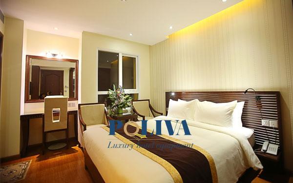 Công ty Poliva cung cấp thiết bị khách sạn với mẫu mã đẹp và đa dạng