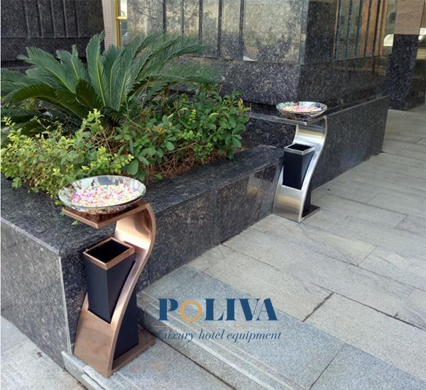 Không chỉ để xả rác, thùng rác còn có vai trò làm đẹp cho cảnh quan