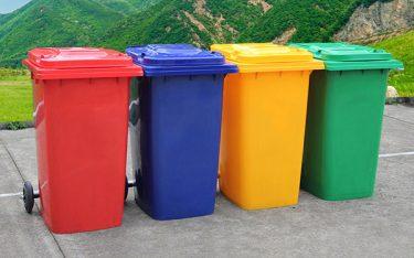Lợi ích của việc trang bị thùng rác có bánh xe tại khu vực công cộng