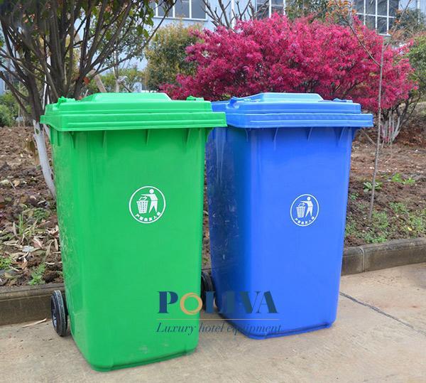 Thùng rác nhựa dung tích 120L