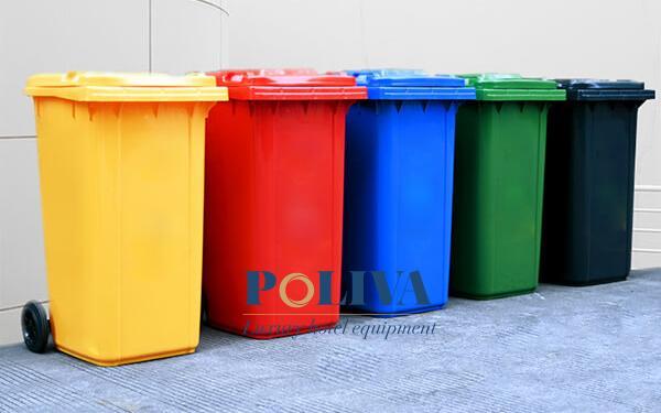 5 yêu cầu người dùng muốn thùng rác ngoài trời phải đáp ứng được