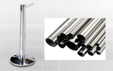 Cột chắn inox dây kéo là gì? Đặc điểm của cột chắn inox dây kéo