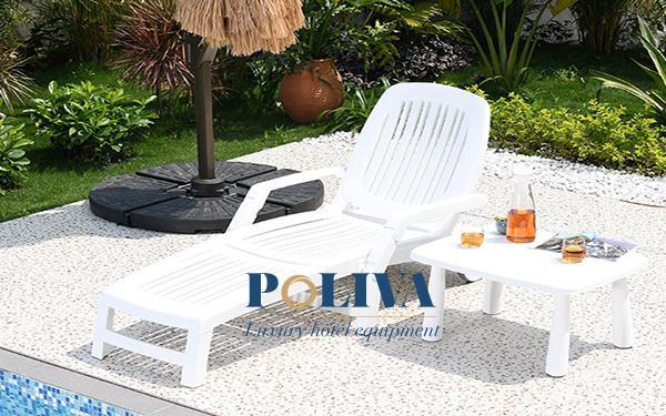Đặc điểm của ghế hồ bơi bằng nhựa composite
