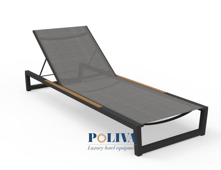 Ghế hồ bơi textilene là gì? Có nên dùng cho khách sạn ven biển?