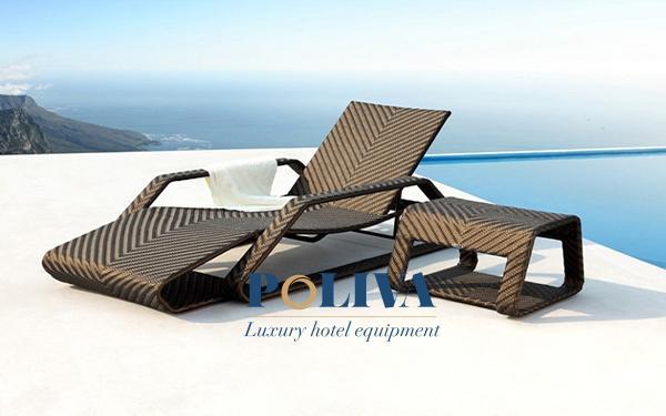 Quy trình sản xuất ghế hồ bơi giả mây tại Poliva