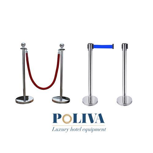 Cột chắn inox dây chùng và cột chắn inox dây căng có gì khác nhau