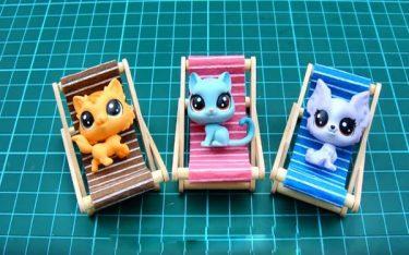 Hướng dẫn làm ghế bãi biển mini đơn giản
